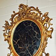 Portuguese Gilt Mirror