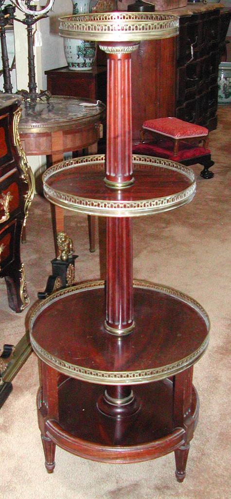 French Louis XVI Style Presentoir