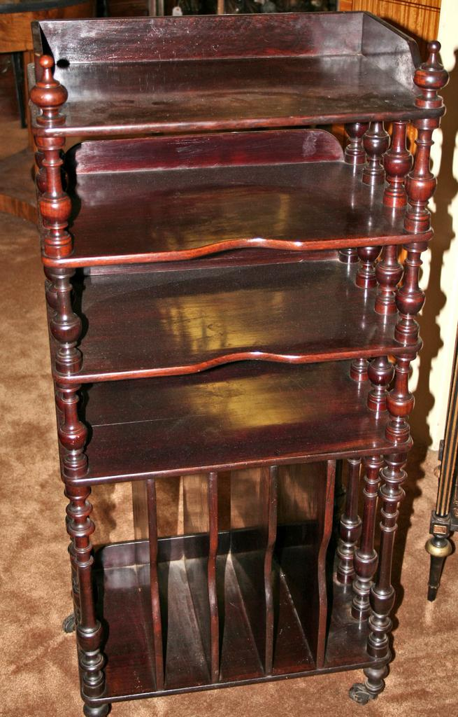 Sweet French Rosewood Music Stand