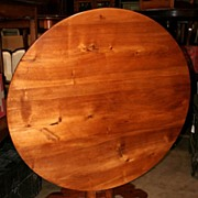 Fantastic French Walnut Tilt-Top Table