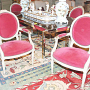 Set of Six Louis XVI Style Armchairs