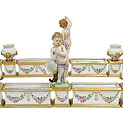Louis XV Style German Porcelain Surtout