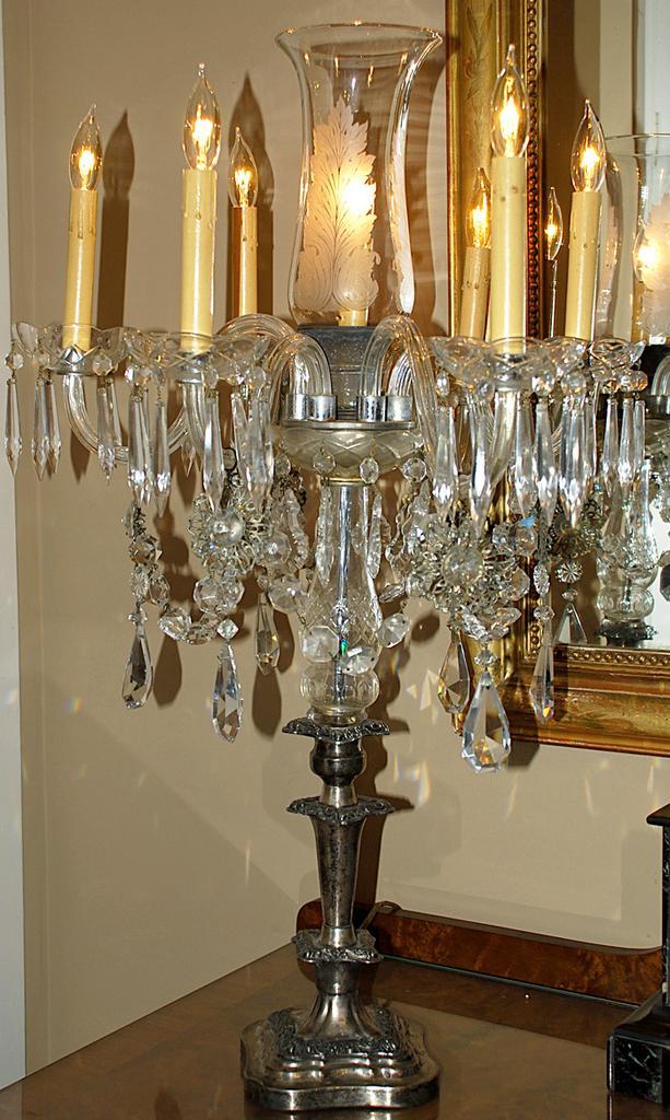 Stunning Candelabra Lamp