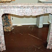 Beautiful Louis XIV Style Marble Mantle