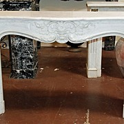 Stunning French Marble Fireplace