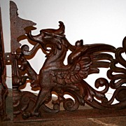 French Iron Dragon Window Guards