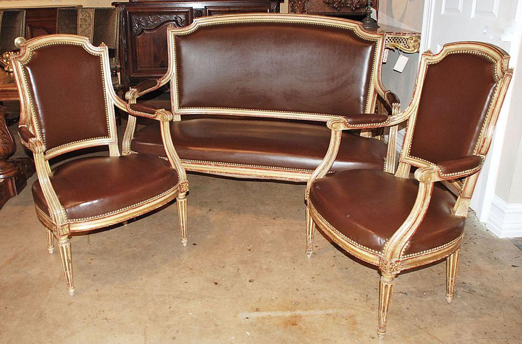 Louis XVI Style Salon Set