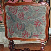 French Tilt-top Table Firescreen