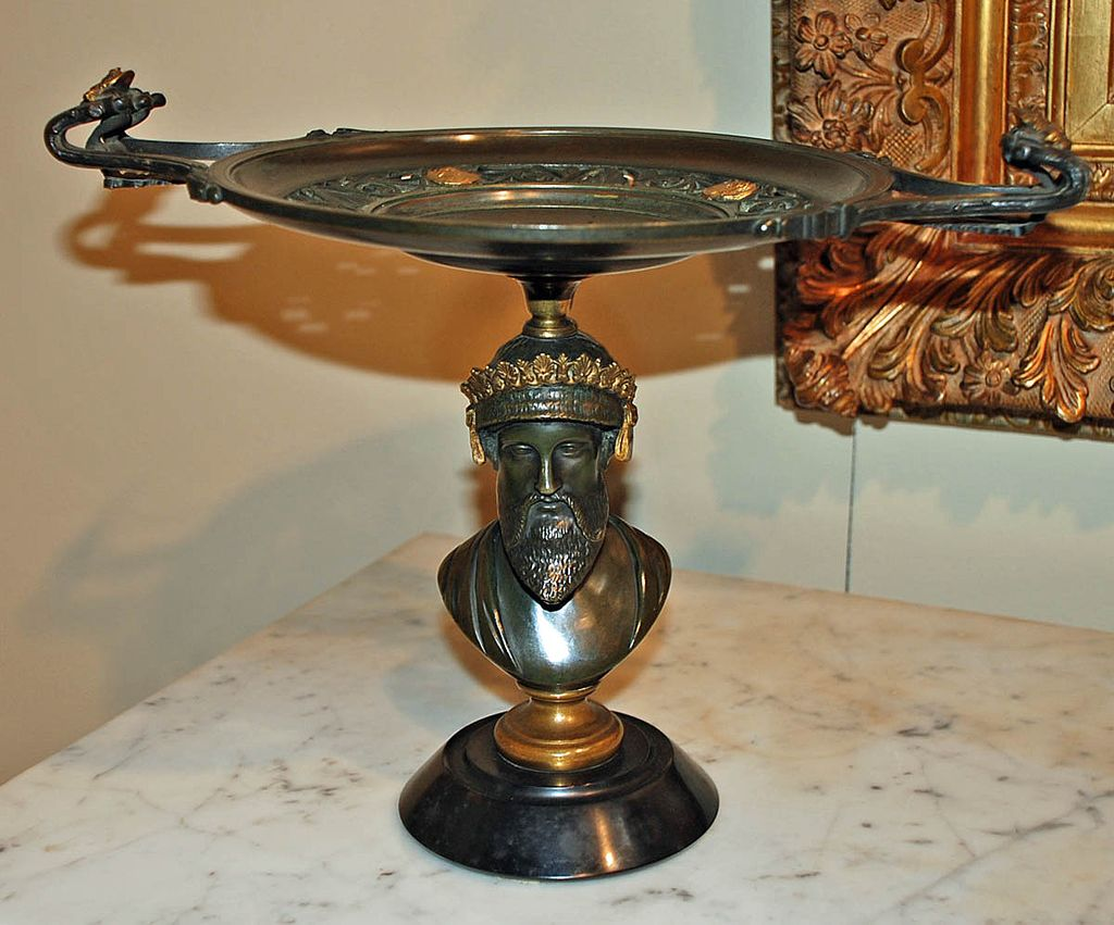 Empire Style Bronze Tazza