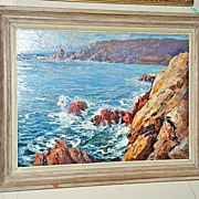 "Wonderful Oil on Board ""Coastal Scene"""