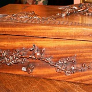 19th century Carved Box