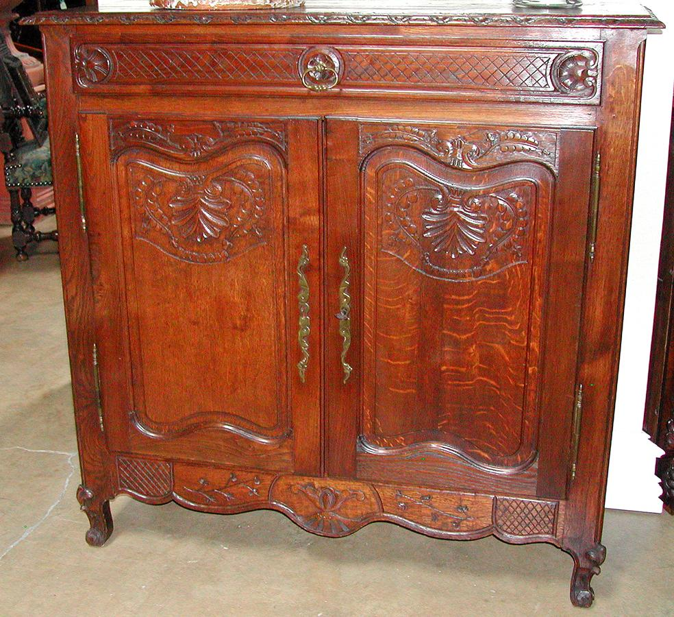 French Double Door Cabinet