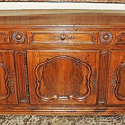 Wonderful French Walnut Enfilade