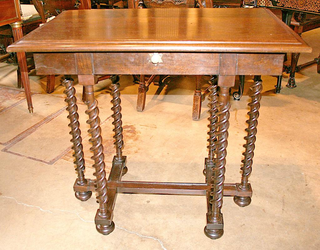 French Walnut Table