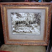 Nice Vintage Family Photograph in Gold Frame