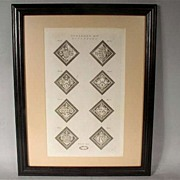 Very Nice Vintage Coat of Arms Heraldry Print