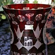 Ruby Vase, Egermann