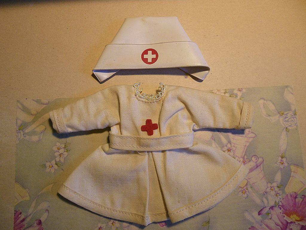 Ginny Tagged Nurse's Outfit with Hat
