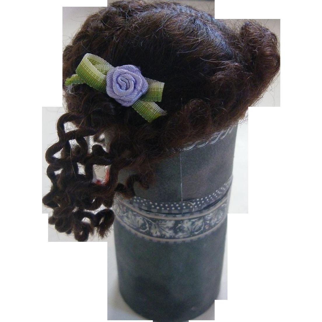 Small English mohair fashion wig