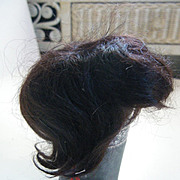 Short Brown English mohair wig