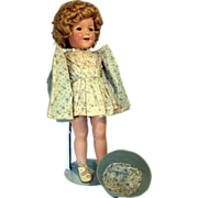 """20"""" Shirley Temple doll"""