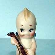 Kewpie with Mandolin