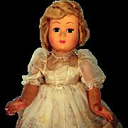 Athena Hard Plastic Italian Doll