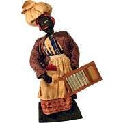 Black Woman with washboard