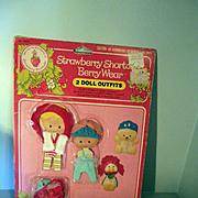 Strawberry Shortcake outfit in package