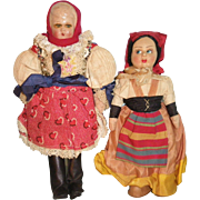 Cloth Tourist Dolls