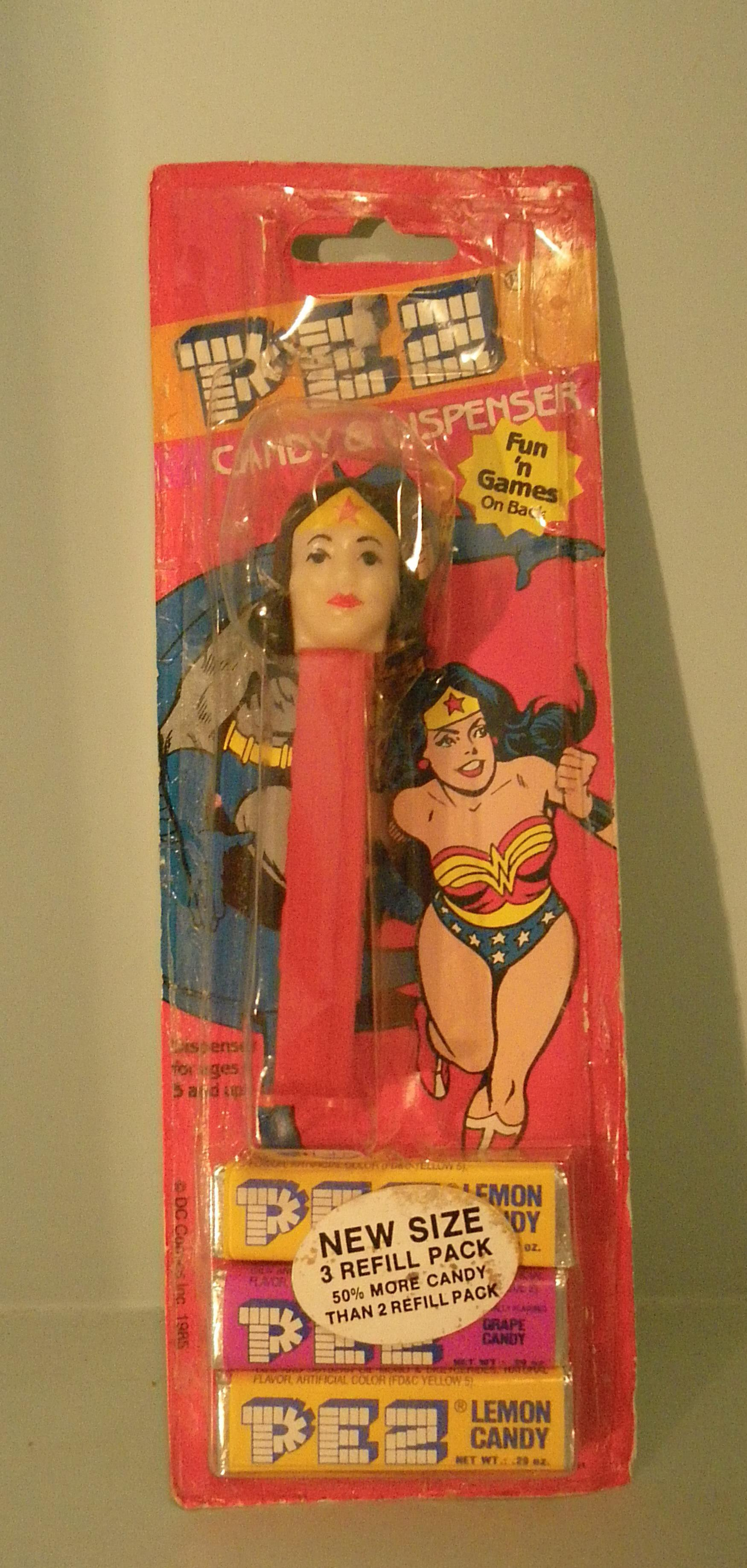Wonder Woman Pez