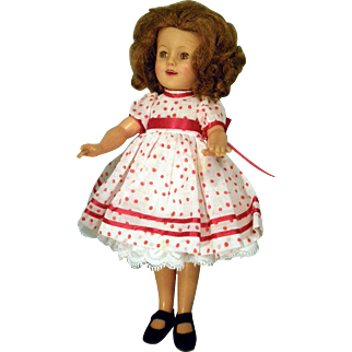 "Shirley Temple 12"" doll"