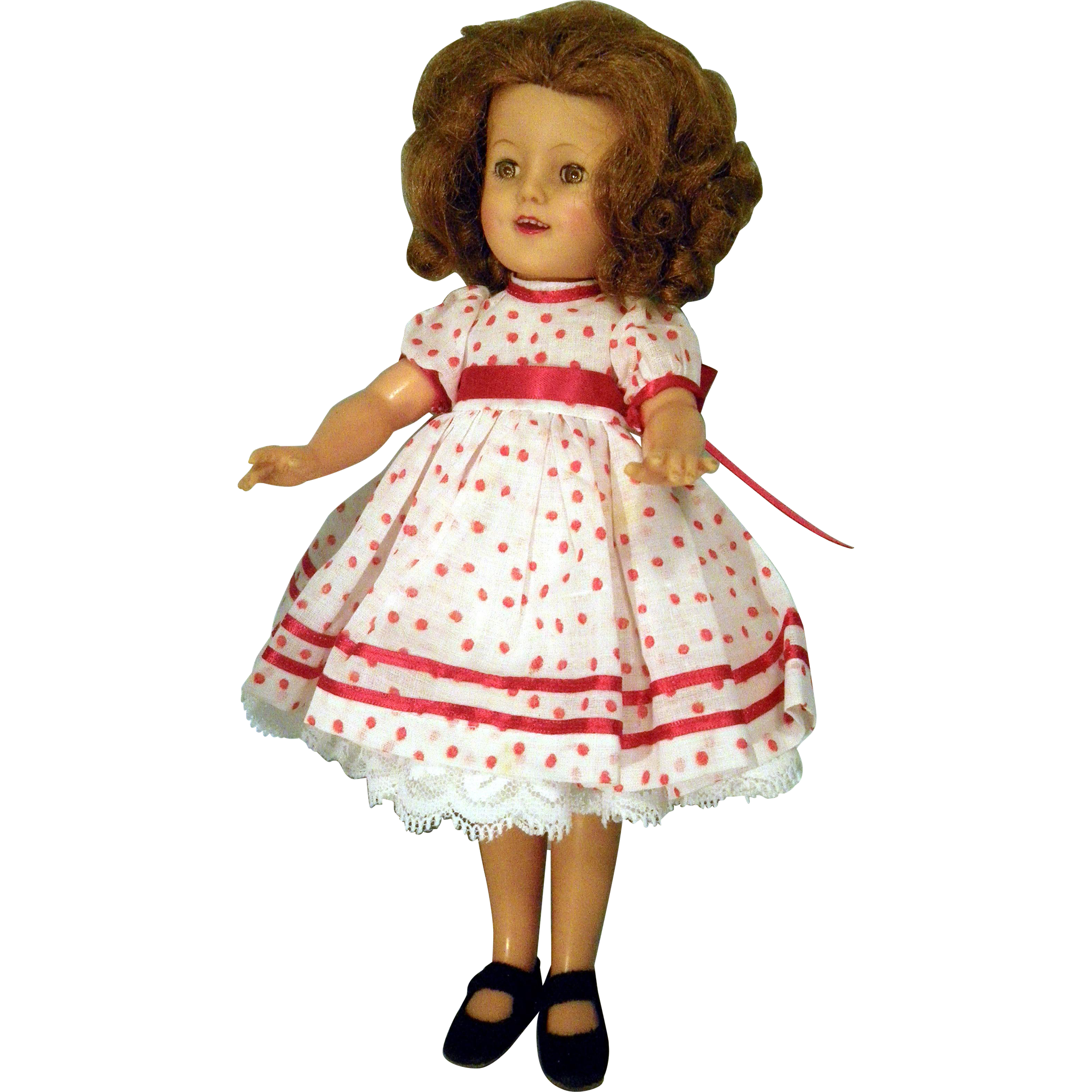 """Shirley Temple 12"""" doll"""