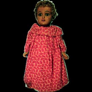 9 inch Black bisque doll