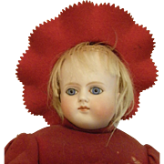 German Turned Shoulder head doll