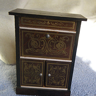 Biedermeier Drop Front Desk
