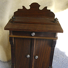 Antique German Schneegas Dollhouse Cabinet