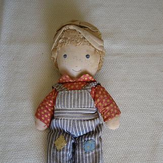 Robbie & Holly Hobbie cloth dolls