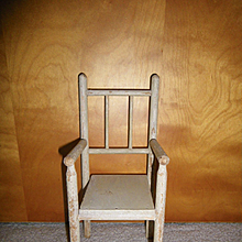 Early Wooden Doll Chair
