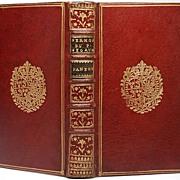 French Book: Panegyriques Du Pere De Segaud circa 1750