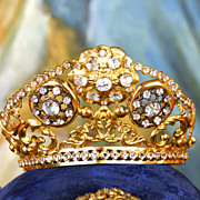 Antique Santos Diadem Couronne/Crown