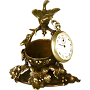Antique 19th Century French Figural Vide Poche/Porte Montre/Watch Holder