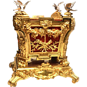 Rare, Magnificent Napoleon III Era French Gilded and Silvered Bronze Jardiniere