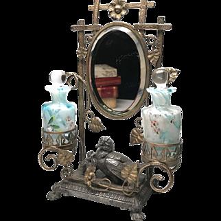 Antique Nineteenth Century French Palais Royal Porte Parfum