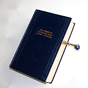 Vintage Lapis Lazuli Eagle Claw Page or Book Marker Reading