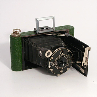 Rare Eastman Kodak Boy Scout Camera 1930s Photography with Original Case
