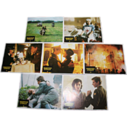 Hanover Street Film Cinema Lobby Cards Posters Original x 6 Harrison Ford Lesley-Anne Down Christopher Plummer