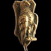 A Victorian Door Knocker Parrot Brass