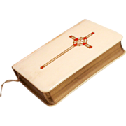 1940 Book of Common Prayer with Gold and Enamel Decoration in Original Box