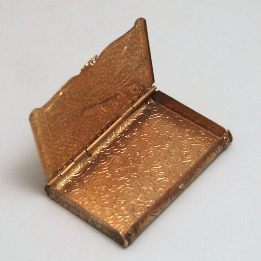 Brass Business Card Case | Best Business Cards